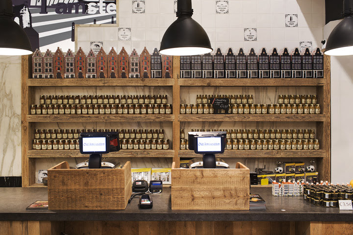 Old Amsterdam Cheese store by studiomfd Amsterdam 05 Old Amsterdam Cheese flagship store by studiomfd, Amsterdam