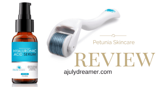 {Beauty} Petunia Skincare Derma Roller & Serum Review - A July Dreamer
