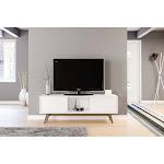 Polifurniture Porto Rico 59 inch TV Stand White