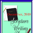 Scripture Writing Plan for December 2018