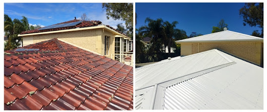 New Roof Replacement in Dalkeith Creates A Cool And Leak Free Roof For Perth Family.