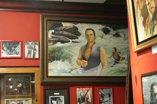 """Who Doesn't Want A Giant Painting Of Burt Reynolds In """"Deliverance"""" Hanging On Their Wall?"""