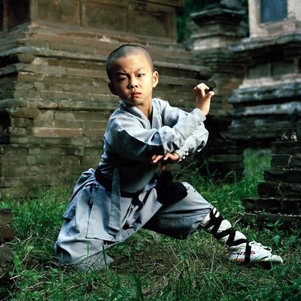 Hao Han (8) 郝永强 Shaolin kung fu student and child actor Shaolin Monastery, Henan