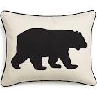 Eddie Bauer Bear Twill Decorative Pillow, Black