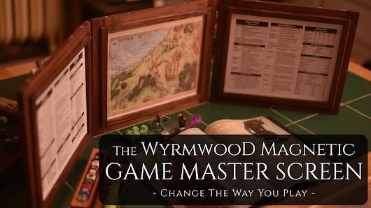 The Wyrmwood Magnetic Game Master Screen