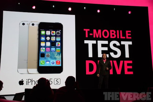 Apple is providing T-Mobile with free iPhones for 'Test Drive' program         ~          Apple and Android Everything