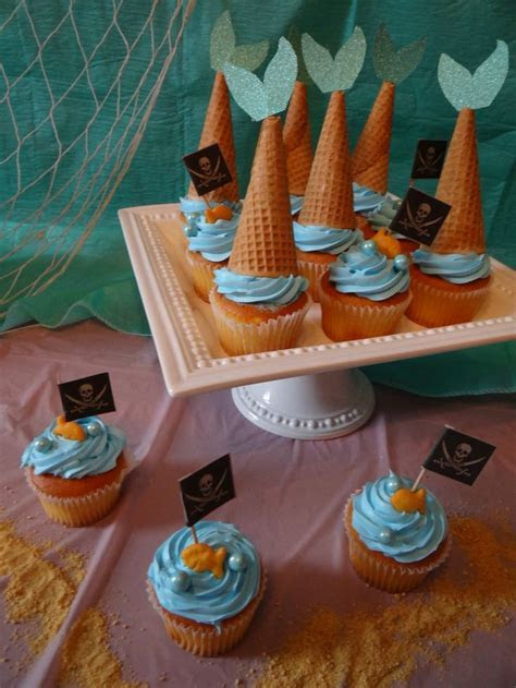 17 Best ideas about Mermaid Cupcakes on Pinterest   Sea