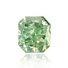 0.14 quilates, Fancy Intense Diamond Green, radiante