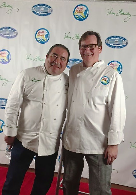 Chef Emeril Lagasse at Seaside School's Taste Of The Race | 15th Annual Fundraiser March 3-5, 2017 – 30AEATS