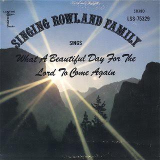 Singing Rowland Family