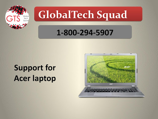 Acer Laptop Support Toll Free 1-800-294-5907