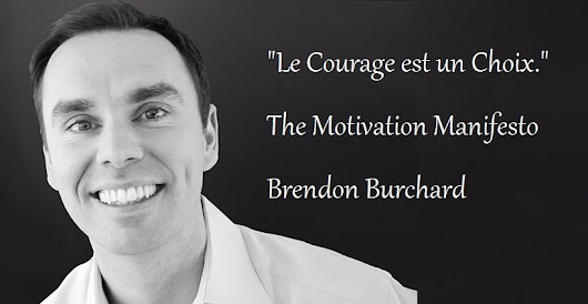 "Brendon Burchard et son ""Motivation Manifesto"""
