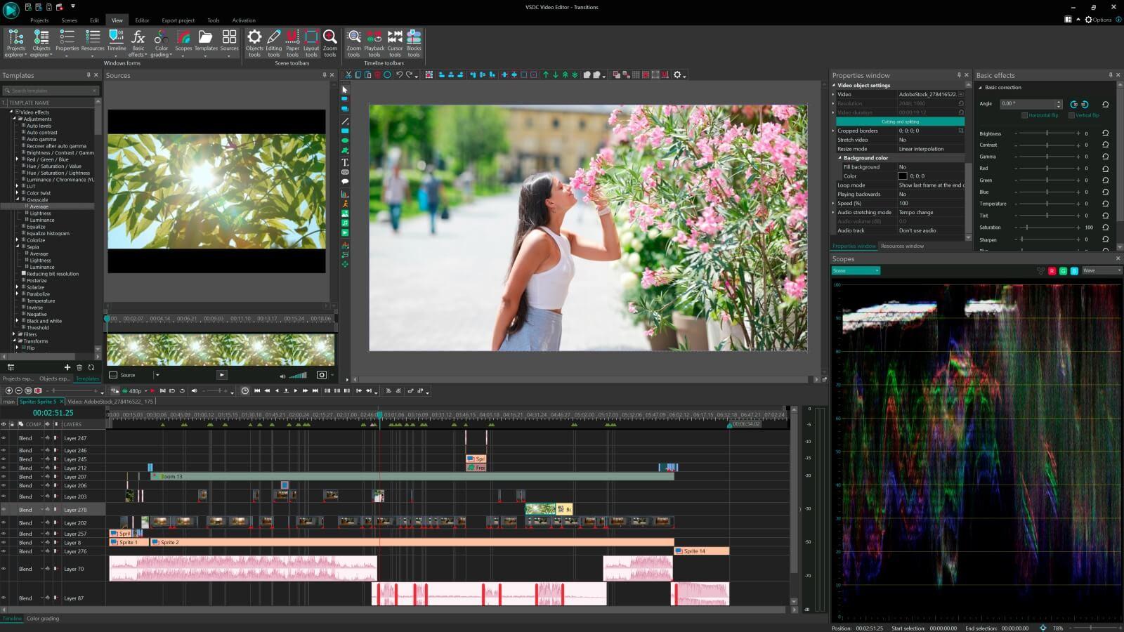 VSDC Pro NLE Video Editor 5.5