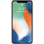 Apple iPhone X - 256 GB - Silver - Unlocked - GSM
