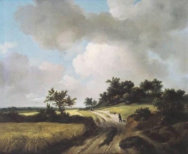 gainsborough--landscape-with-figures-on-a-path-c-1746-48