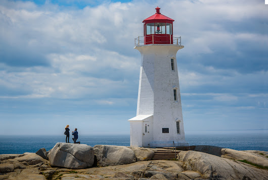 Peggy's Cove Marriage Proposal
