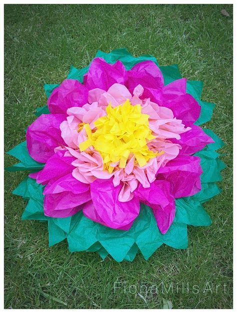 How To Make Paper Flowers   Wedding Decorations