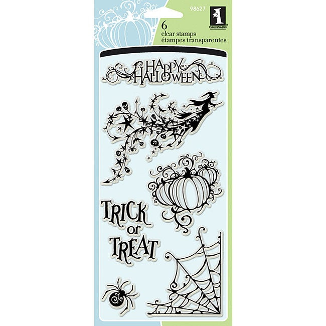 Inkadinkado 'All Hallows' Eve' Clear Stamps