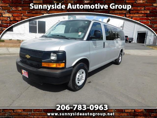 Used 2013 Chevrolet Express LS 3500 Extended for Sale in Seattle WA 98133 Sunnyside Automotive Group