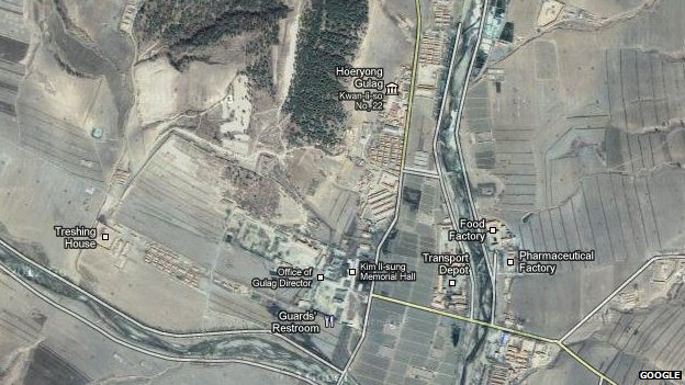Google Expands North Korea Map Coverage Bbc News