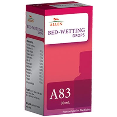 Allen A83 Drops, Homeopathic Medicine for Bedwetting - Homeopathy Remedies