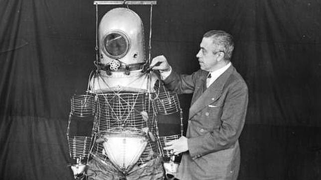 Emilio Herrera, el olvidado español que «inventó» el traje espacial