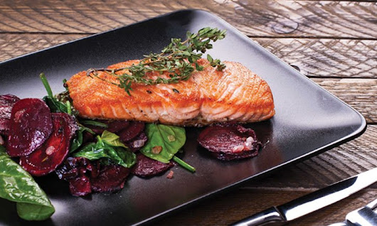 Salmon Beet Salad Recipe | Sunrise Senior Living