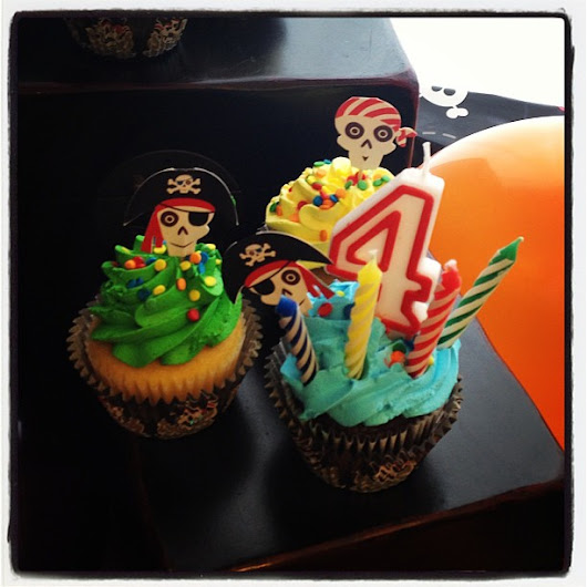 Pirate Birthday Party ideas for kids - Brooklyn Berry Designs