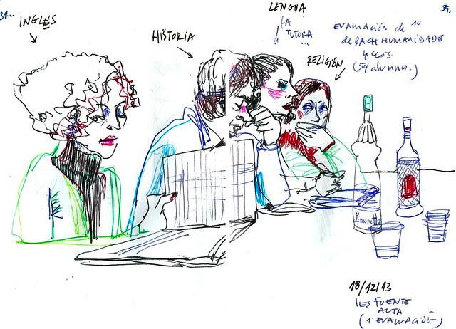 Reunión de notas