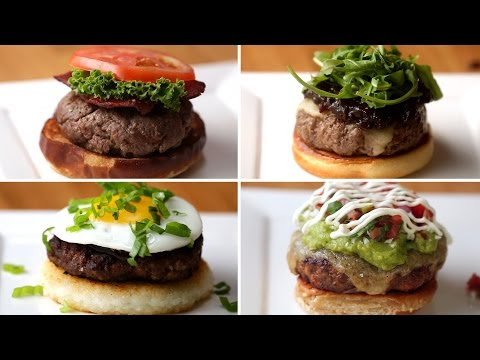 Delicious Food Recipes For U.S.A: 4 Burgers Around the World