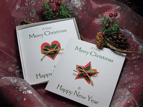 Country Christmas   Handmade Christmas Card Pack
