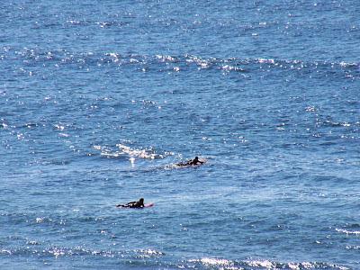 Sesión de surf del 5 de Junio del 2007 - Sopelana. Olas de menos de medio metro en bajamar