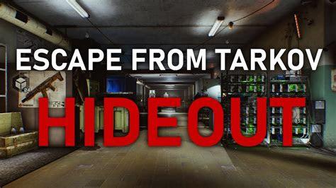 escape  tarkov hideout security