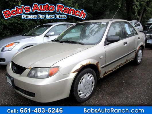 Used 2003 Mazda Protege DX for Sale in Lino Lakes MN 55014 Bobs Auto Ranch