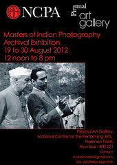 Masters of Indian Photography - Archival Photo - Exhibition from 19 to 30 August 2012 by firoze shakir photographerno1