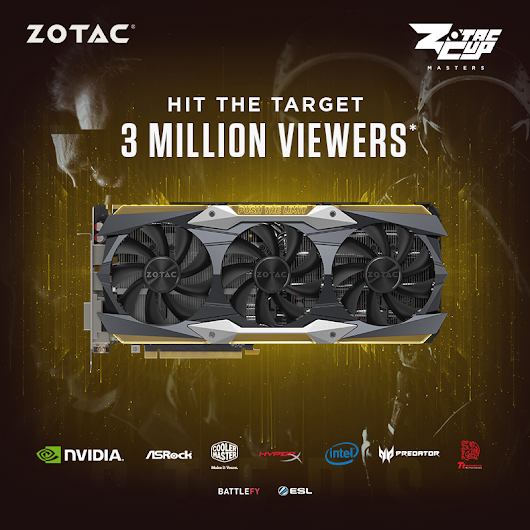 ZOTAC CUP Masters: Hit The Target Giveaway