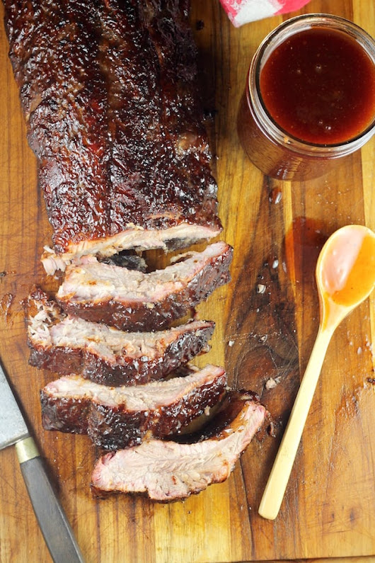 Dr Pepper Barbecue Ribs ~ Easy recipe on the grill