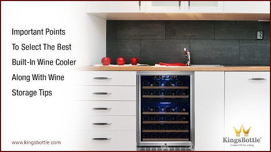 Important Points To select The Best Built-In Wine Cooler Along With Wine Storage Tips