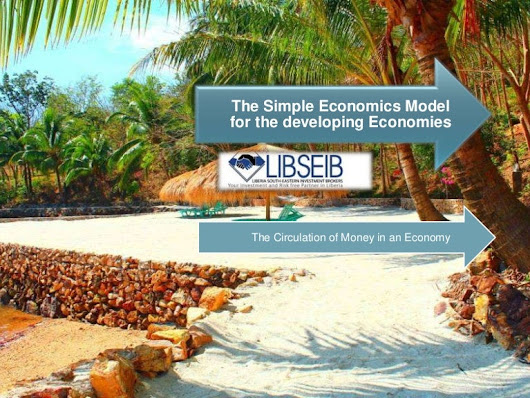 The simple economics model for the developing economies