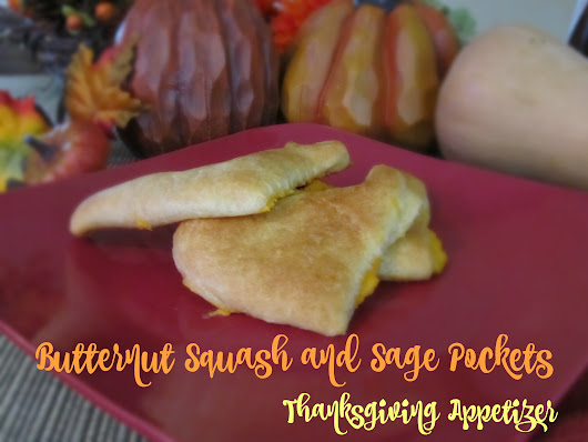 Butternut Squash and Sage Pockets Thanksgiving Appetizer #FallFamilyMeals - Taking Time for Mommy