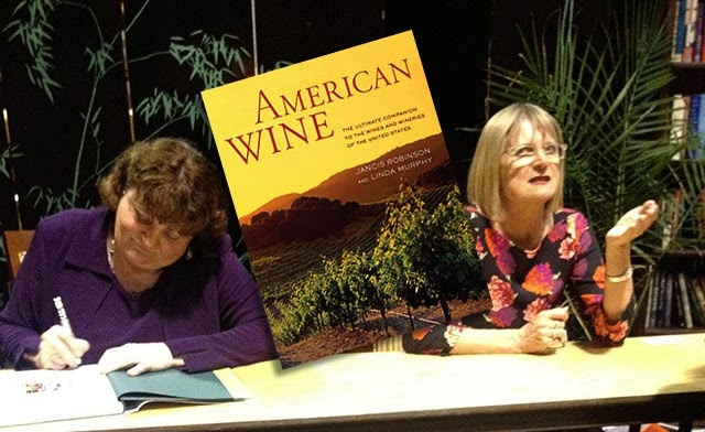 Jancis Robinson, author of 'American Wine'