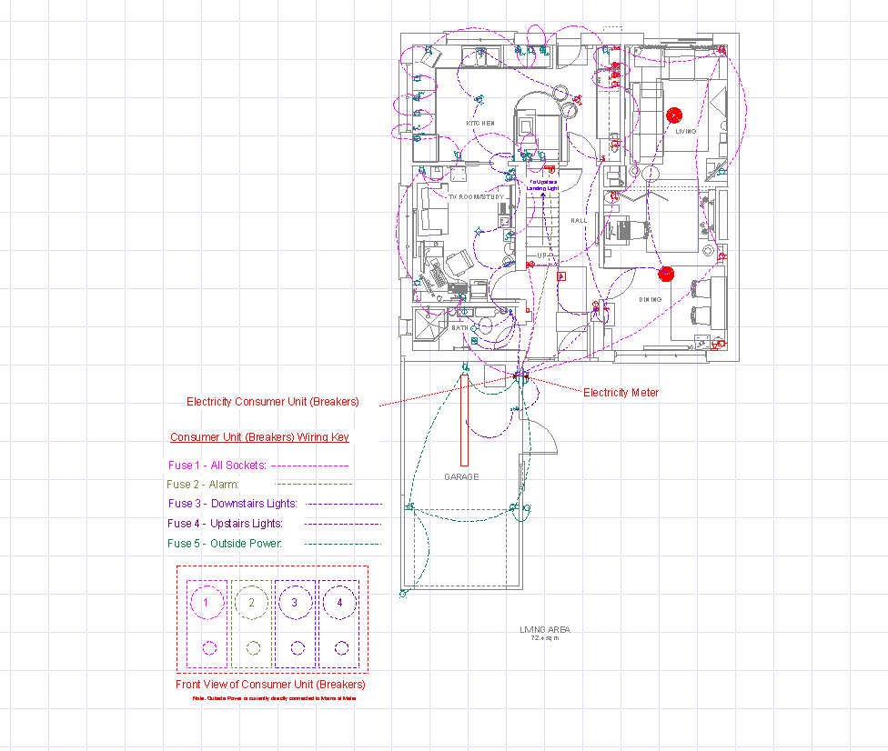 Wiring Diagram Garage Consumer Unit