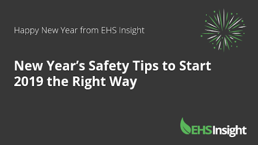 New Year's Safety Tips to Start 2019 the Right Way