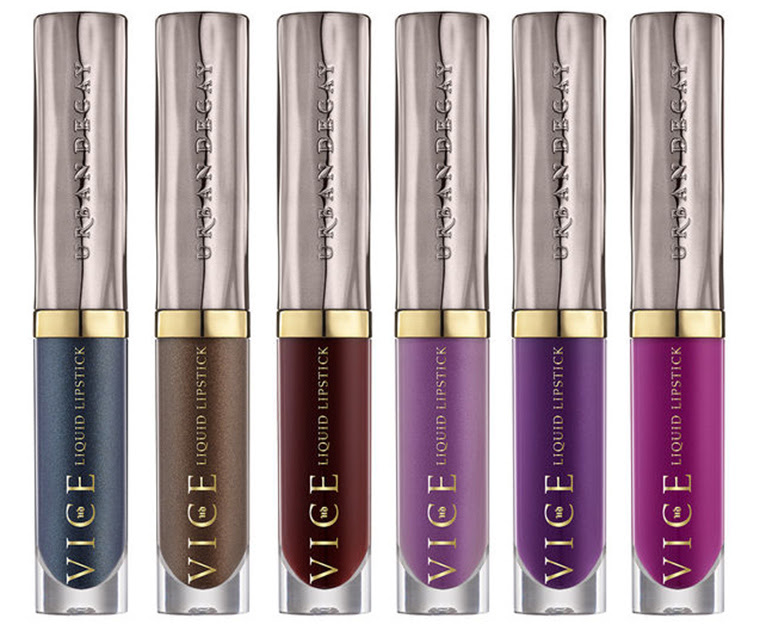 Urban Decay Vice Liquid Lipstick for Spring 2017