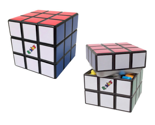 Rubik's Candy Cube Comes Pre-Solved - Technabob