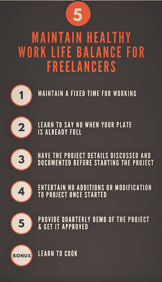 5 Tips To Maintain Work Life Balance For Freelancers - Code Handbook