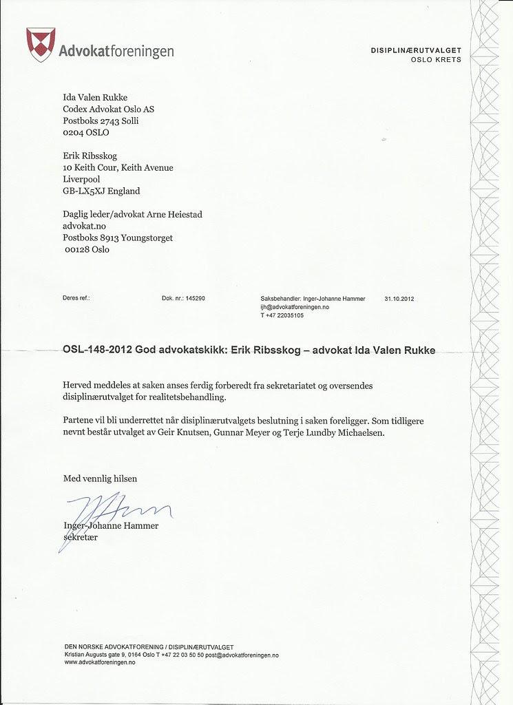 brev advokatforeningen november