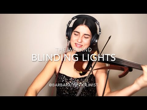 The Weekend- Blinding Lights- Violin Cover- Barbara Krajewska