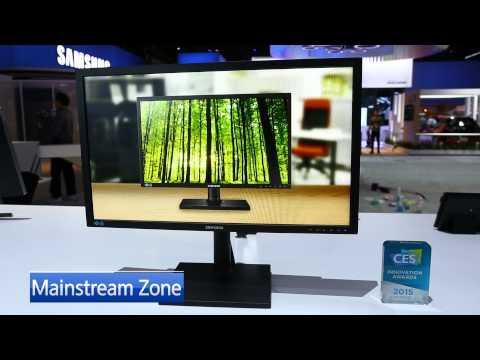 Samsung'un 2015 yılında piyasaya süreceği Monitörler ve Televizyonlar Highligt Zone, Curved Zone