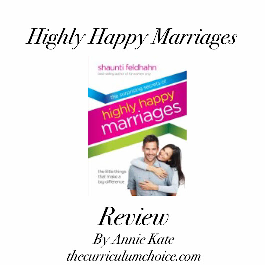 Highly Happy Marriages - The Curriculum Choice